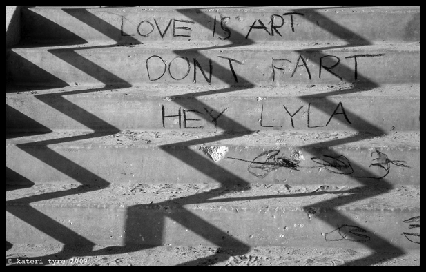 Love is art_signed