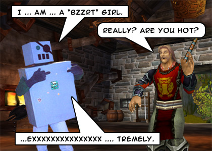 Man-vs-robot