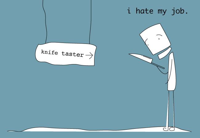 Knife taster