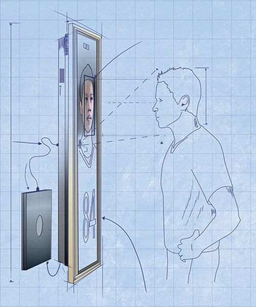 Magic mirror schematic